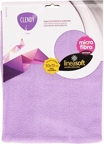 Clendy - Panno Micro Fibra, Super Assorbente E Resistente 50X70Cm, Colori Assortiti