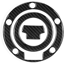 Réservoir de réservoir - 1 PC de moto en fibre de carbone Capuchon de réservoir d'essence Décalques autocollants pour Yamaha YZF-R1 R6.