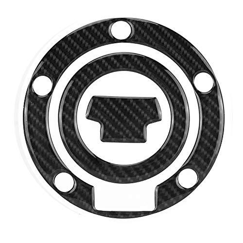 Outbit Tankpad - 1 PC aus Kohlefaser Motorrad Gas Tankdeckel Pad Aufkleber Aufkleber für Yamaha YZF-R1 R6.