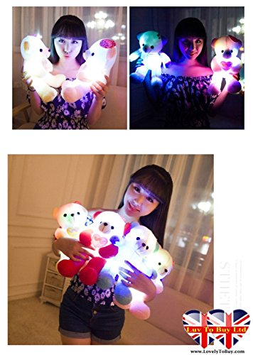 childrens-teddy-bear-night-light-with-multi-coloured-flashing-lights-yellow