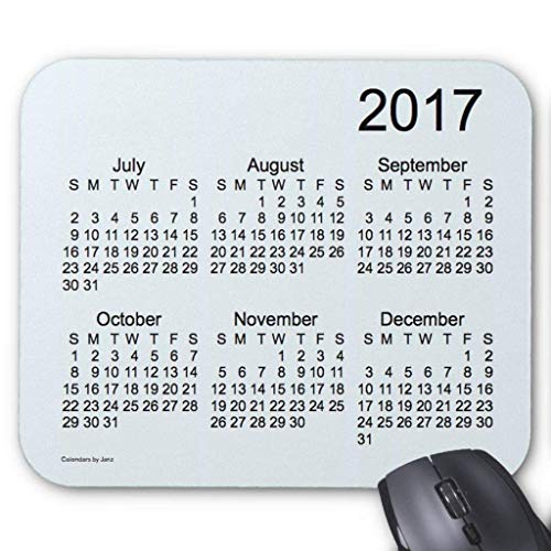 Strukturierte Animal-print (2017 Alice Blue Large Print Calendar by Janz Mouse Pad 18×22 cm)