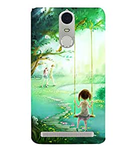 GRAFFITI DESIGN Designer Back Case Cover for Lenovo K5 Note