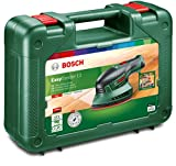 Bosch Akku Multischleifer EasySander 12 (Akku, Ladegerät, 3 Schleifblätter, Koffer, 12 Volt System, 2,5 Ah)