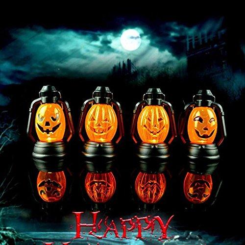 Zolimx Halloween Szene Dekorative Props Leuchtende Nachtlicht Lampen