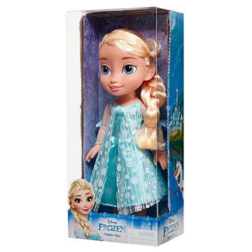 Eiskönigin) Elsa Puppe, 35 cm groß, mit glitzerndem Kleid (Elsa Kleid Mit Cape)