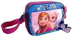 Disney Frozen Princess Elsa & Princess Anna Mini Square Cross Body Bag with Front, Shoulder Bag for kids