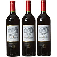 Château Le Barry France Bordeaux MDC Vin Saint Emilion AOP 75 cl - Lot de 3