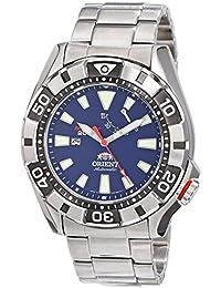 Orient M-Force - Reloj de pulsera automático para hombre (con reserva de carga, cristal de zafiro, cuerda manual)