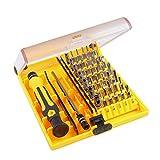 Set Cacciaviti, Cacciavite di Precisione 45 in 1 Riparazione Apertura Tool Kit per Occhiali Smartphone Cellulare PC Laptop Elettronica