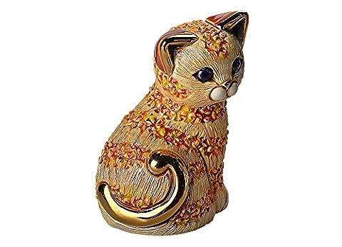 De Rosa Orange Cat Figurine