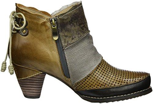 Manitu 961694, Stivali da Cowboy Donna grigio (grigio)