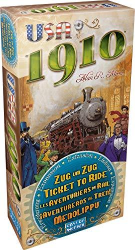 Full-erweiterung (Days of Wonder Asmodee 200332 - Zug um Zug - Erweiterung 1910)