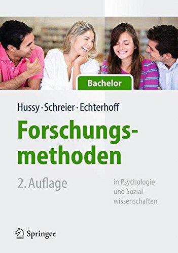 Forschungsmethoden in Psychologie und Sozialwissenschaften für Bachelor...