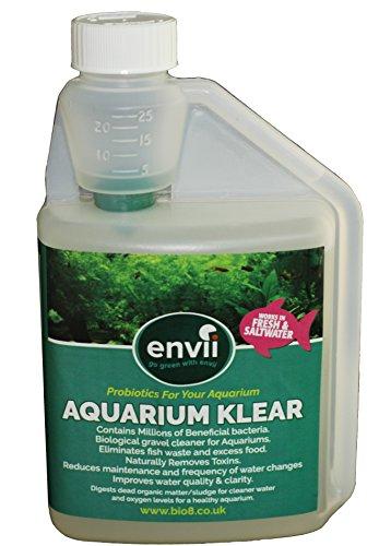 Envii Aquarium Klear - Green Water Treatment Maintains Clear Water in Fish Tanks – Treats 4,000 Litres 1