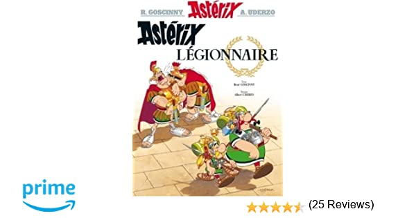 Asterix Asterix Legionnaire N 10 Amazon Fr Rene