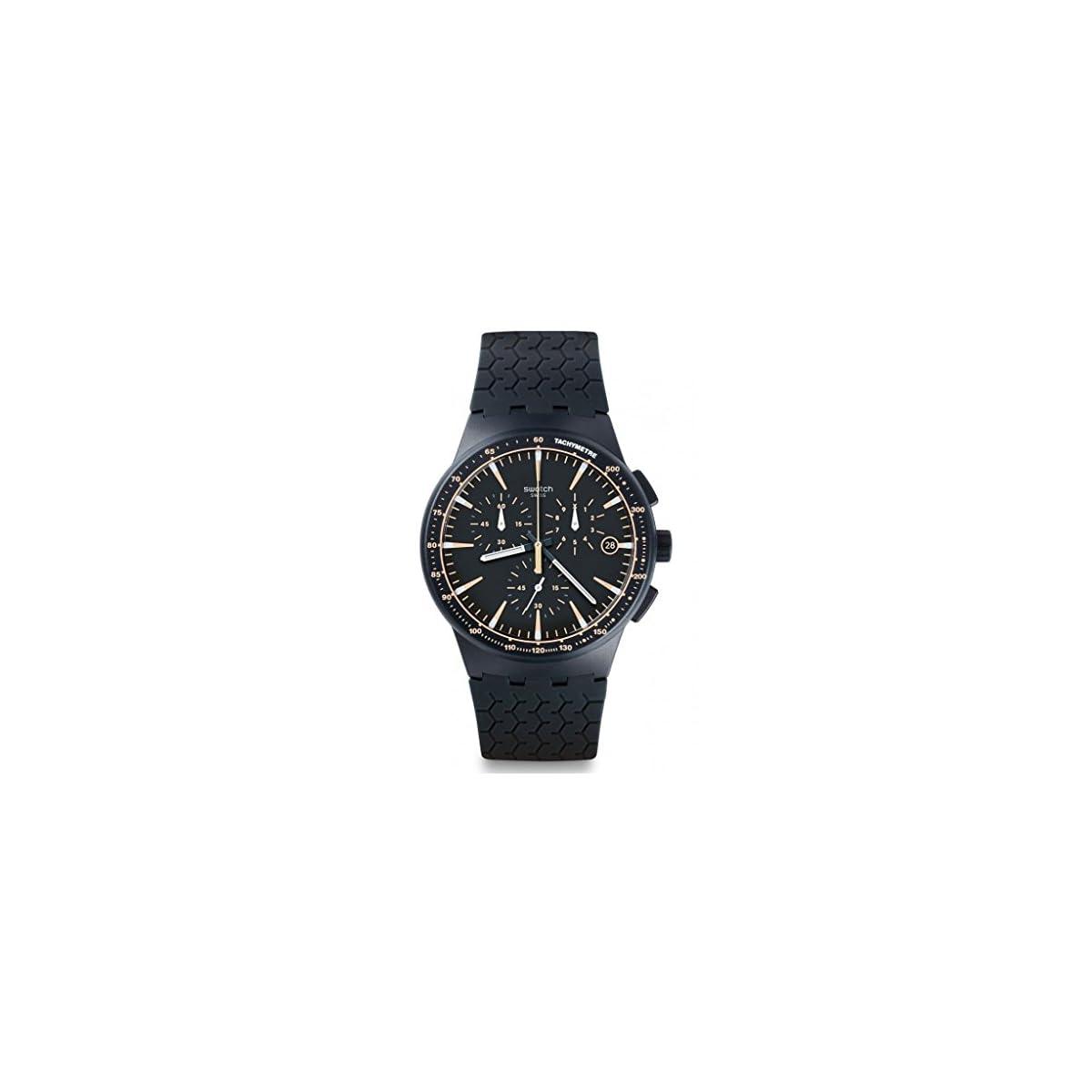 51uqEb toGL. SS1200  - SWATCH Reloj de Cuarzo Unisex Meine Spur