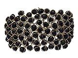 JDX Black Crystal Bracelet for Girls and Women