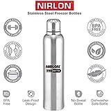 Nirlon Stainless Steel Bottle, 400Ml, Silver