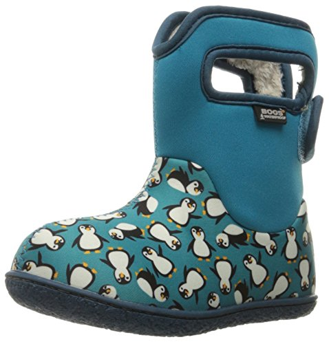 Bogs Baby Bogs Wellies Classic Penguins Turquoise Multi