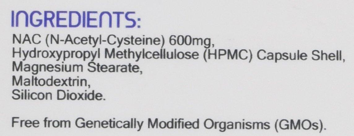 NAC N-acetil-cisteina 600mg 120 capsule - Prodotto nel Regno Unito | Standard GMP di Prowise Healthcare | Adatto a… 2 spesavip