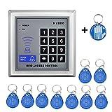 OBO HANDS libres d'expédition haute sensibles 125 kHz contrôle d'accès clavier RFID lecteur de carte Système de contrôle d'accès de porte pour maison/Apartment-kd2000 (K2000)