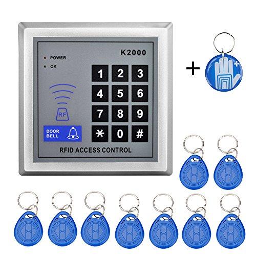 OBO HANDS Envío gratuito 125 Khz de alta sensibilidad Control de acceso teclado lector de tarjetas RFID Puerta sistema de control de acceso para hogar/apartment-kd2000 (K2000)