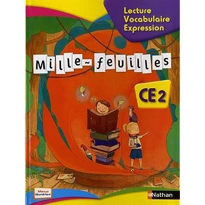 Mille Feuilles Ce2 Lecture Vocabulaire Expression Pdf