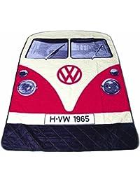 Volkswagen T1Bus Picnic Mantel en color rojo
