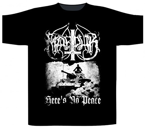 Preisvergleich Produktbild Marduk - Heres No Peace (T-Shirt, Farbe: schwarz, Größe: L)