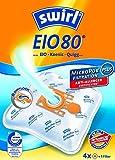 4 Original SWIRL EIO80 Staubsaugerbeutel für EIO BS 70/. … 71/. Serie