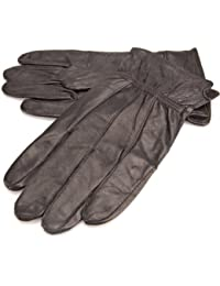 Lorenz Quality Genuine Black Leather Gents Glove - Medium