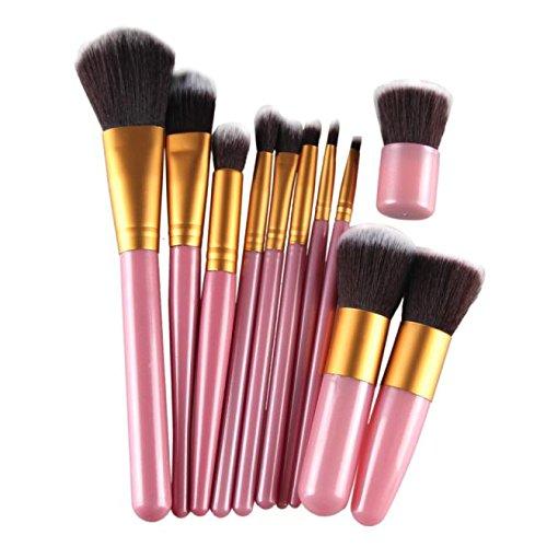 HCFKJ Pincel De Maquillaje Profesional 11 Piezas De