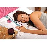 Goodnight Sound Kopfkissen ist das Kissen mit Boxen | Musik-kissen zum Anschluss an iPod, iPhone etc. | ideal für süße Träume