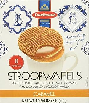 Daelmans Caramel Stroopwafels Pack Of 3