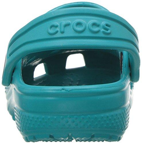 Crocs Classic Clog K Tur, Sabots Mixte Enfant Vert (Turquoise)