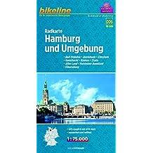 Bikeline Radkarte Hamburg und Umgebung (SH06) 1 : 75 000
