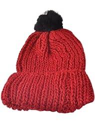 ✿♥ Mode Femmes Bonnet Laine, Ularmo® Tricoter Chapeau Hiver Chaud Bonnet Hat ♥ ✿
