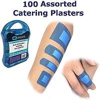 5pack 100Stück sortiert qualicare Premium Ultra Dünn Blau Catering First Aid Kit Wunde Schnitt Pflaster Dressings... preisvergleich bei billige-tabletten.eu
