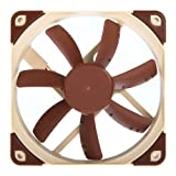 Noctua NF-S12A ULN, Ventilateur Ultra Silencieux, 3 Broches (120 mm, Marron)