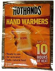 Heatmax - Hothands 2 Calentadores de mano hasta 10 horas de calor