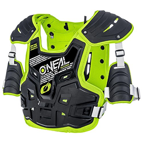 O\'Neal PXR Stone Shield Protektoren Jacke Offroad Motocross Enduro MX Panzer Rücken Brust, 0734-1, Farbe Gelb