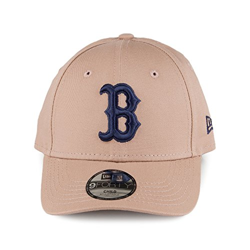 Casquette Enfant 9FORTY MLB League Essential Boston Red Sox camel NEW ERA Camel