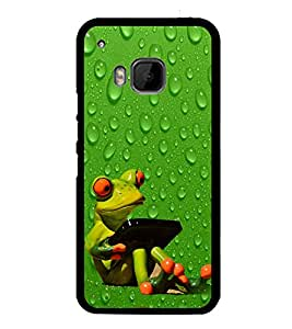 Funny Frog 2D Hard Polycarbonate Designer Back Case Cover for HTC One M9 :: HTC One M9S :: HTC M9 :: HTC One Hima