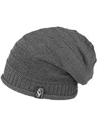 leichte long Beanie oversize Mütze aus 100% Baumwolle - Damen Herren Mütze unisex, Slouch