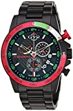 GV2 by Gevril Men's Analogue Quartz Watch with Stainless-Steel Strap 9907