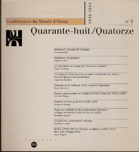 Conférences du Musée d'Orsay, numéro 5