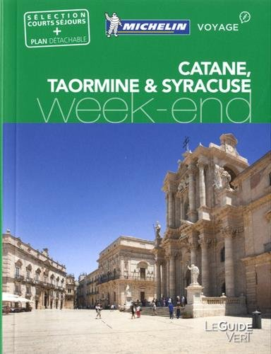 Descargar Libro Guide Vert Week End Catane Syracuse Taormine Michelin de Michelin