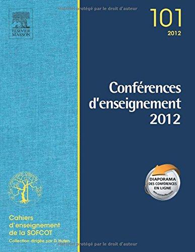 Conférences d'enseignement 2012, Volume 101