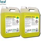 Lemon HSC Zitronenreiniger für harte Oberflächen, 2 x 5 Liter