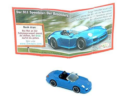 Kinder Überraschung, 911 Speedster als Porsche Modell (Autos - Züge - Loks) - Modell Züge, Autos